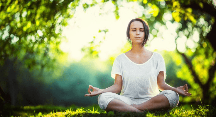 meditation helps you manage stress and anxiety