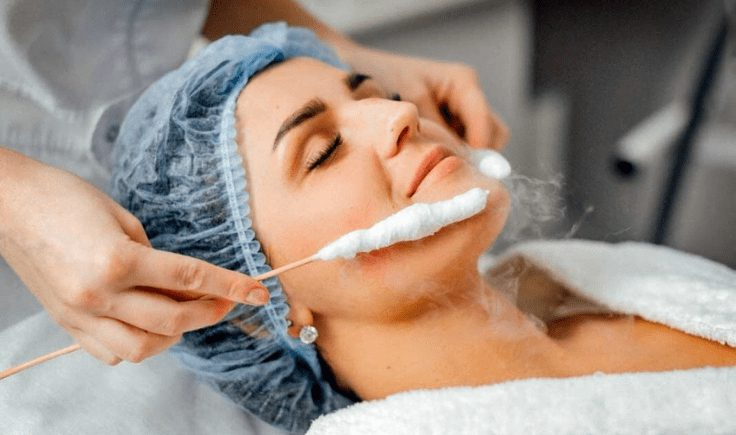 benefits of a cryotherapy facial session