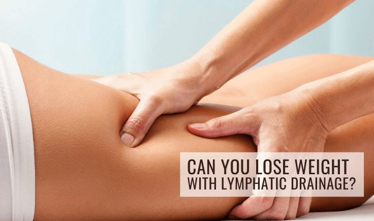 can you lose weight with lymphatic drainage
