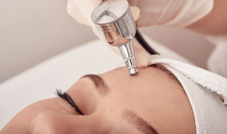 ozone therapy for skin in cosmetology