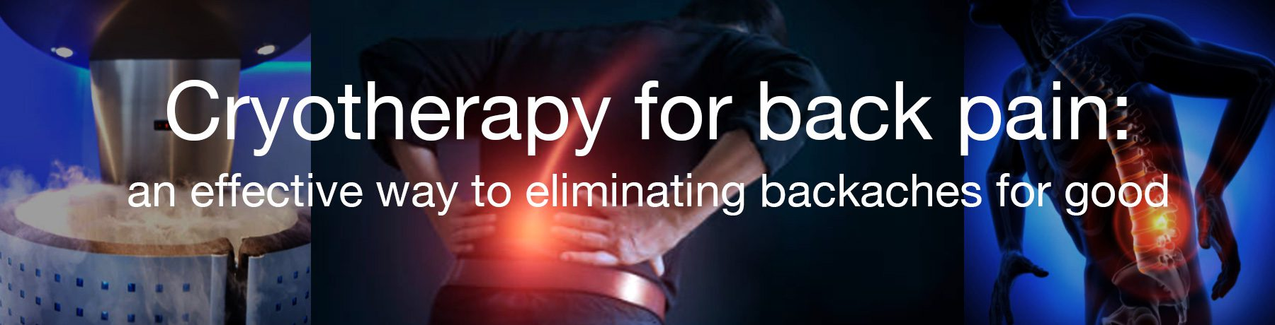 cryotherapy for back pain