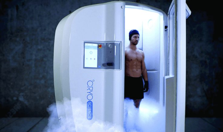 benefits of cryotherapy for back pains