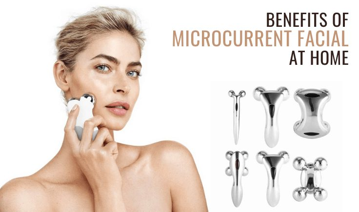benefits of microcurrent facial at home
