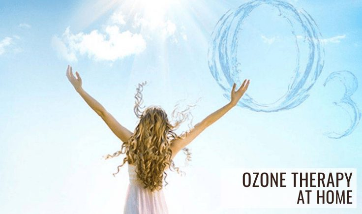 different types of ozone therapy at home