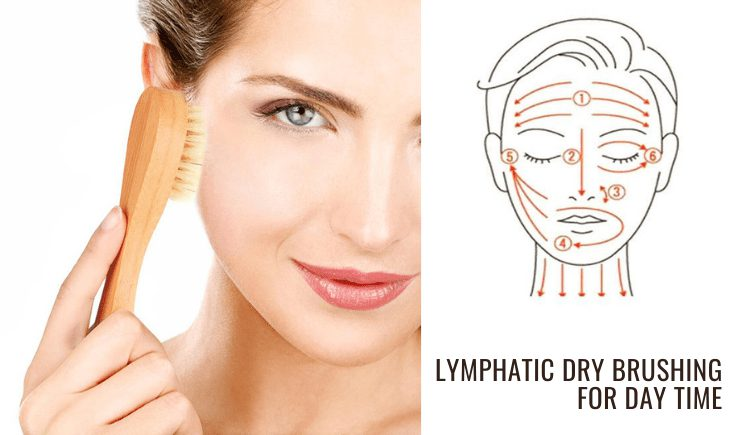 lymphatic dry brushing for day time