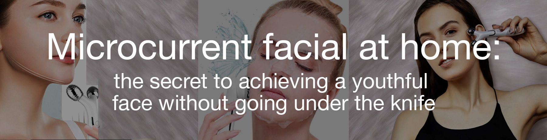 microcurrent facial at home