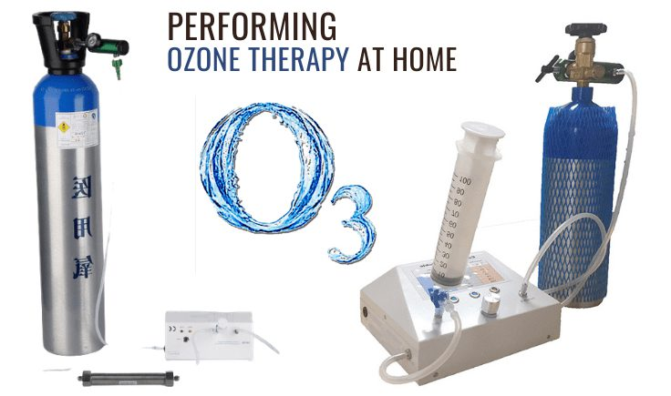 performing ozone therapy at home