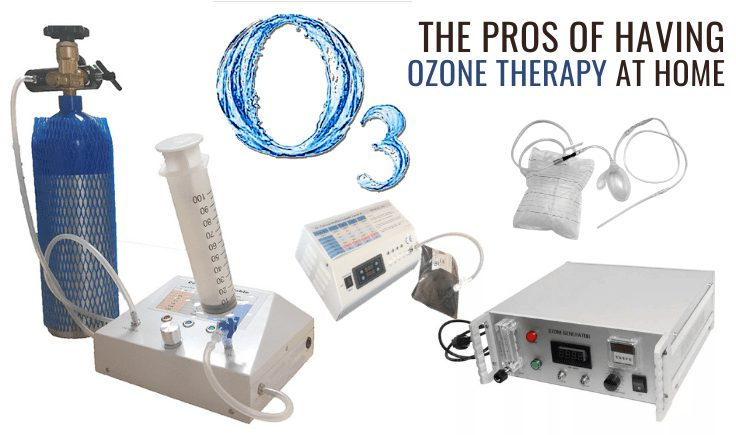 the pros of having ozone therapy at home