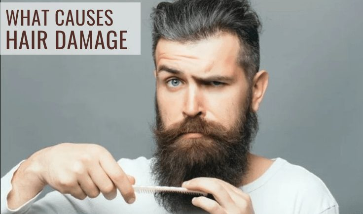 biohacking hair 101 - what causes hair damage