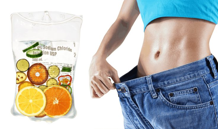 how does iv vitamin therapy for weight loss work