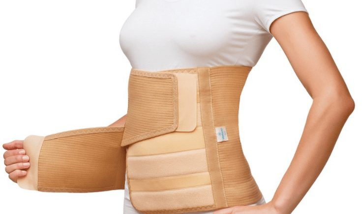 post-op garments to assist lymphatic drainage massage