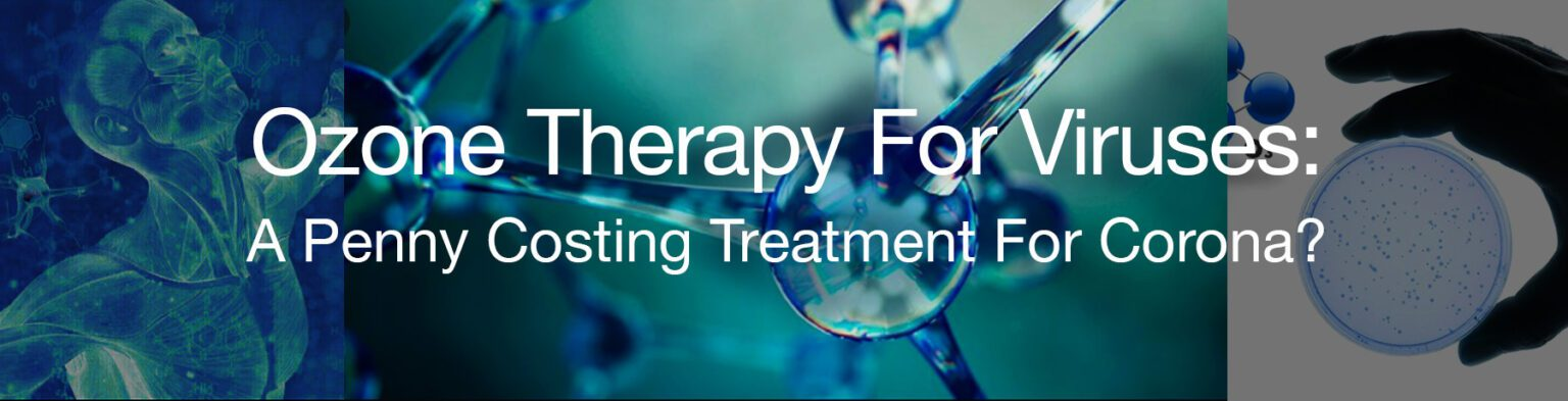 ozone therapy to fight stubborn viruses?