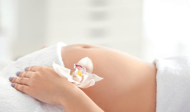 how is pregnancy lymphatic drainage massage performed