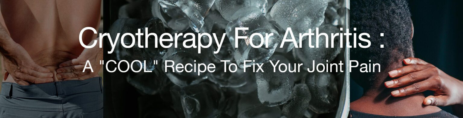 Heat and cold therapy for arthritis