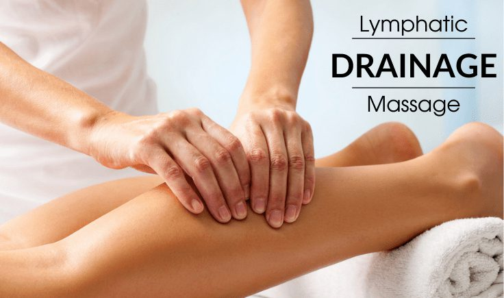 lymphatic drainage massage before and after disclaimer
