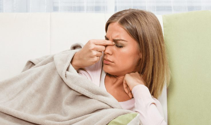 lymphatic drainage massage when you feel ill